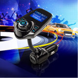 Reproductor de audio FM altavoz Bluetooth Car Kit Manos Libres con display LCD y USB Cargador de coche