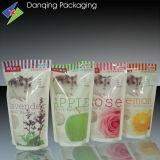 Gousset double en plastique Sac les emballages de lait