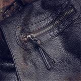 2017新しい洗浄された革ショルダー・バッグの倍の韓国の方法余暇旅行袋(GB#012-89)
