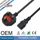 Sipu Europe Câble d'alimentation standard en gros EU Plug Power Cord