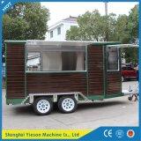 Restaurant de mobile de remorques de nourriture de Ys-Fw450 Chine