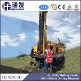 Hfw200L Máquina de perfuração rotativa hidráulica