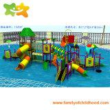 Большой открытый Игра воды структуры водными горками для продажи
