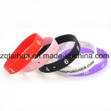 2017 prix d'usine drapeau du pays bracelet en silicone