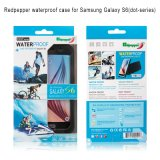 Caixa Multicolor do telefone do atacadista impermeável popular do projeto para Samsung S6
