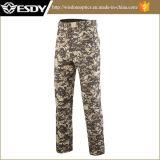 Taktische Mann-Tarnung-Hose Softshell Vlies-Militär-Hosen