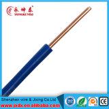 Fio elétrico elétrico do PVC, fio de cobre do condutor