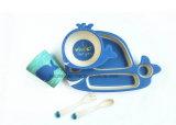 BPA libèrent la vaisselle en bambou de vaisselle de fibre réglée pour les gosses (BC-BB-SU2007)