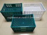 I cestini di plastica del commestibile per la gabbia o il cestino di plastica della frutta possono piegare