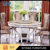 El italiano muebles de comedor de mármol de juego de mesa y sillas