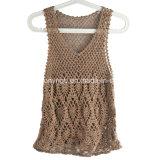 Manche de Tricotage du Crochet Vest-01 de Main