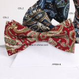 Impresso Paisley Masculina Casual Bow tie