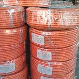 """Mangueira de gás trançada de fibra de tecelagem de alta resistência 1/4 """"Inch Suave de superfície"""