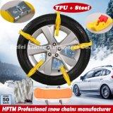 Correntes de neve Certificated Ce das correntes de pneu do produtor