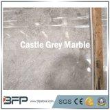 別荘の装飾のための2017枚の熱い販売の城の灰色の大理石の平板