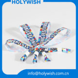 Form-Satinwristbands-bunte Gewebe-Sublimation-Armbänder