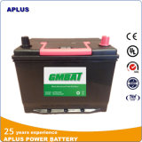 batterie de voiture exempte d'entretien de 65D26L Ns70L 12V65ah dans la norme de JIS