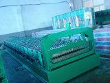 El último rodillo del panel del material para techos de la tecnología que forma la máquina