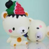 Künstliche Squishy Eiscreme-Bären-Form-Sahne-duftendes langsames steigendes Spielzeug