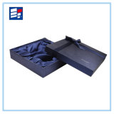 Caja de regalo impresa personalizada del papel hecho a mano para la joyería del embalaje