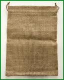 Natürlicher Jutefaser-Leinwand-Beutel für Bohnen-Verpackung