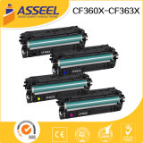 Serie della cartuccia di toner di Compatibel CF360X per impresa M552dn di LaserJet di colore dell'HP