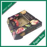Manzanas de la caja del cartón de la fruta