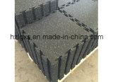 moquette di collegamento della gomma della strumentazione di forma fisica delle mattonelle della gomma di 1mx1m