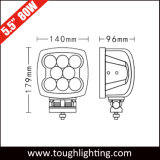5,5 pulgadas 80W Spot luces LED de inundación de servicio pesado camión tractor luces para maquinaria de construcción