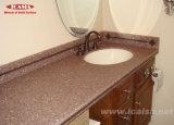 Твердой поверхности в ванной комнате есть раковина / акриловые ванны место на кухонном столе