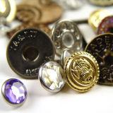 Factory Metal Button para vestuário Vestuário Vestuário Malas e sapatos