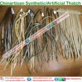 Natuurlijk kijk Synthetische Palm met stro bedekken voor Paraplu 6 van het Strand van de Bungalow van het Water van het Plattelandshuisje van de Staaf Tiki/van de Hut Tiki Synthetische Met stro bedekte