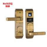 Толковейший электронный замок двери системы гостиницы Unolck карточки фингерпринта/IC