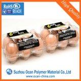 Film Calender Blister PVC Roll, Thin Effacer PVC rigide rouleau de film pour Eggtray