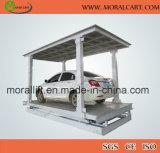 Levage de véhicule de levage de stationnement de 2 niveaux à vendre