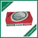 Гофрированный картон упаковка пиццы в салоне