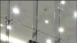 Acero inoxidable del espejo de cristal de araña Grapas de construcción