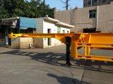 골격 콘테이너 트레일러 Sigle 타이어 40 피트 세 배 차축