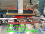 機械を作る歯磨き粉のホース