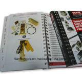 Spiral Notebook / (OEM-WR013) Spiral Bound Book Printing