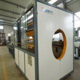 HDPE PUの熱絶縁体のジャケットの管の放出の生産機械ライン