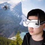 Usine 170x50x45mm casque HD Fpv des lunettes de protection pour regarder la télévision