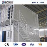 Camera modulare della casa del contenitore di Flatpack della Camera con la stanza da bagno e la cucina (casa del contenitore)