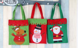 Het Winkelen van de Leveranciers van Kerstmis van de Handtas van Kerstmis van de Gift van Kerstmis Zak