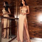 نساء مساء ثوب مع ثوب [سليفلسّ] [بكلسّ] طويلة