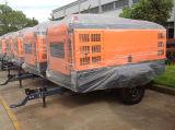 110~1200cfm Diesel de tornillo rotativo Portable compresor de aire