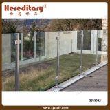 Barandilla de cristal del pasamano de Frameless del jardín exterior (SJ-S345)