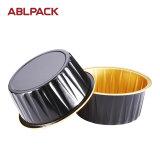 多彩なアルミホイルの高品質の円形のマフィンのケーキのベーキングコップ