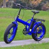 뚱뚱한 타이어 전기 자전거를 접히는 최고 20inch