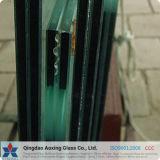 vidro laminado do flutuador desobstruído de 3mm+0.38PVB+3mm a de 19mm+3.04PVB+19mm